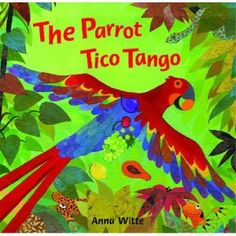 The Parrot Tico Tango - Book-Based Activity for Toddlers and Preschoolers (South America Theme) Toddler Preschool, Preschool Activities, Rainforest Theme, Hispanic Heritage Month, World Crafts, Little Monkeys, Children's Literature, Lessons For Kids, Book Crafts