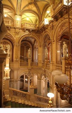 Vienna Opera House, Vienna, Austria YPO Conference; saw Phantom of the Opera here, performed in German