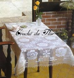http://crochet103.blogspot.com/2013/12/3-tablecloth-for-rectangular-table.html