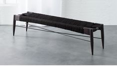 Wrap Large Black Bench |