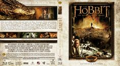 The Hobbit: The Desolation of Smaug (2013) Blu-ray Custom Cover