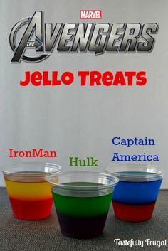 super hero kids snacks recipe