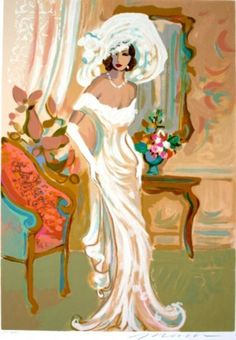 """Limited Edition Print """"Candide"""" by Isaac Maimon"""