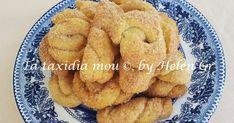 Κουλουράκια στην κυριολεξία αφρός! Πανεύκολα, ελαφρά ρόδινα, τραγανά, λόγω της ζάχαρης και με πολύ λεπτή γεύση. Εξαιρετικά! Αυτά τα ... Cannoli, Cookies Et Biscuits, Sugar Cookies, Greek Cooking, Pudding, Cookie Cups, Whoopie Pies, Onion Rings, Greek Recipes