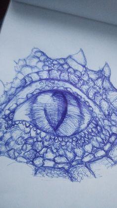 #drawings #dragon #eye #dragon eye ❤️❤️
