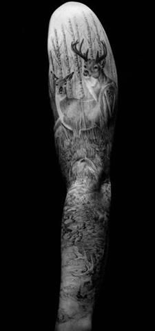 Probably the coolest sleeve i have seen. Would love a little color added.