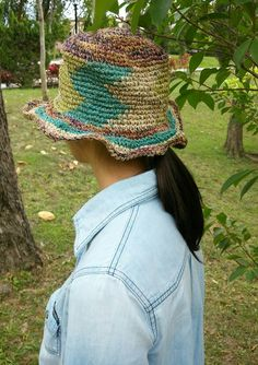 Hand-woven round cap Bengal