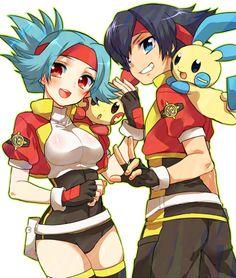 Pokemon Ranger - Lunick and Solana
