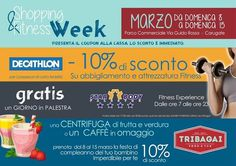 Shopping & Fitness week!
