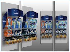 Gillette spy hanger display 2011