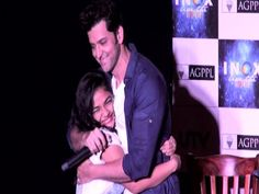 Hrithik Roshan's live dance with young college girl at the promotion of ...