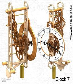 Free Wood Carving Patterns for Beginners - Free Wood Carving Patterns for Beginners , Oak Blanket Chest Woodworking Ideas Plans Wooden Clock Plans, Wooden Gear Clock, Wooden Gears, Wood Clocks, Metal Clock, Woodworking Furniture Plans, Woodworking Classes, Woodworking Videos, Woodworking Basics