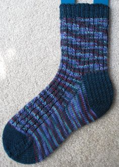 Skyp Rib Socks by Adrienne Ku | Knitting Pattern - Looking for your next project? You're going to love Skyp Rib Socks by designer Adrienne Ku. - via @Craftsy