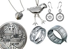 Kalevala Koru. Finnish jewelry. Gorgeous.