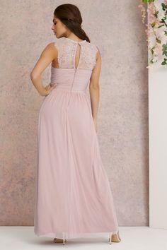 Lipsy Petite Elsa Mesh Maxi Dress Elsa, Wedding Planer, Bridesmaid Dresses, Wedding Dresses, Lipsy, Lace Sleeves, Uk Online, Lace Detail, Outfit