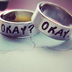 "This set of rings. | 31 Incredible Etsy Products For ""The Fault In Our Stars"" Fans"
