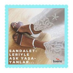 Bueno Sandaletleriyle Aşk Yaşayanlar... 💕 💃 👡  @ misspirenka  #buenoshoes #sandalet