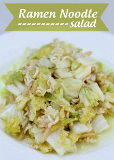 Ramen Noodle Salad - one of our favorites! { liluna.com } #salad