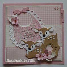 Ellie's Kaarten: Bambi hertjes