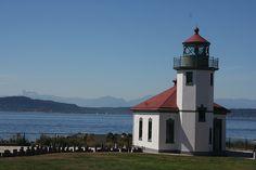 Skunk Bay lighthouse [1964 - Hansville, Washington, USA]