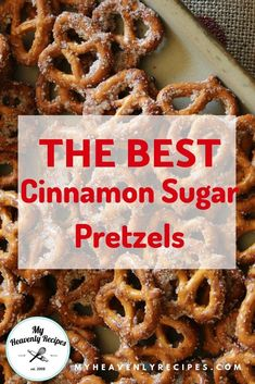 <Cinnamon Sugar Pretzels - A Quick and Easy Snack that will feed a crowd on a bud. Cinnamon Sugar Pretzels – A Quick and Easy Snack that will feed a crowd on a budget. These seasoned pretzels also make a wonderful gift! Healthy Bedtime Snacks, Quick Snacks, Yummy Snacks, Yummy Food, Healthy Snacks, Healthy Breakfasts, Savory Snacks, Seasoned Pretzels, Cinnamon Sugar Pretzels