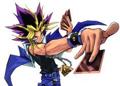 Yami-Yugi (Yu-Gi-Oh!) its ttttttime to du-du-du-duel. so anyone who loves playing the card game yugioh