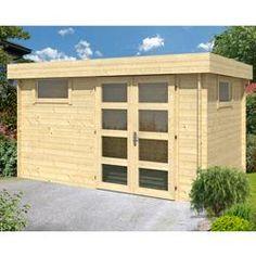 1400 euros Abri de jardin à toit plat HALDEN 12 m²