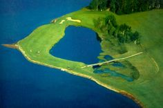 Brudenell River golf course PEI Prince Edward Island, Envy, Golf Courses, River, Green, Rivers