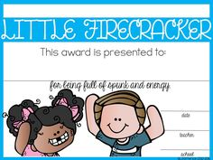 40+ end of the year awards. These cute awards are editable and come in color and black and white.