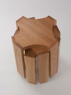 DS Oak Stool - Douglas + Bec