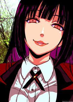 Jabami Yumeko, kakegurui by on DeviantArt Psycho Girl, Pink Mobile, Anime Chibi, Scene, Kawaii, Fan Art, Deviantart, Wallpaper, Drawings