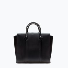 ZARA - SHOES & BAGS - GEANTĂ SHOPPER DETALIU NODURI