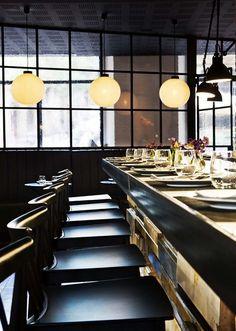 Restaurante Palosanto de Bonbastudio y Derby