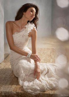 Jim Hjelm #wedding #gown