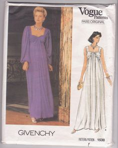 Vintage 1980s Paris Original pattern by by beththebooklady on Etsy, $44.99