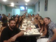 Cena GoWorkera ;) !!!!  5 meses después seguimos teniendo tupper del chino!!!!