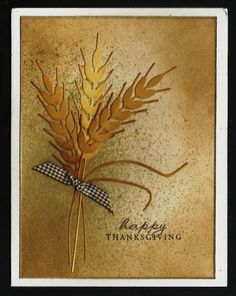 Thanksgiving Card from Sallie by BarbieP - Cards and Paper Crafts at Splitcoaststampers