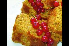 Špaldový mrkvovo-zázvorový koláč s ořechy