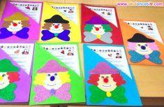 Gelişim Raporu Dosya Örnekleri ve Süslemeleri Preschool kindergarten report card cover