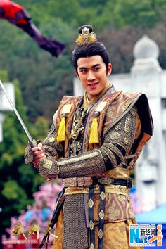 Aarif Lee in television series 'The Empress of China'