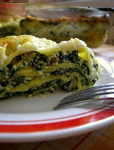 frommarysity: Špenátové lasagne s ricottou a slaninkou