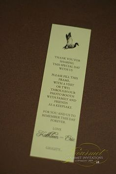 real wedding-duck hunting themed reception