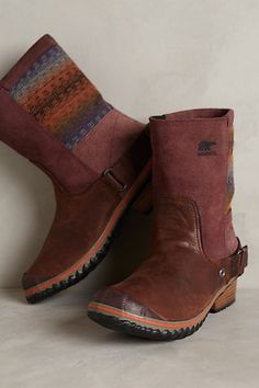 Sorel Slimshortie Boots #anthropologie. Because I clearly need boots. Lots and lots of boots.