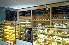 Interiér Restaurantu Kandelábr - pekařství