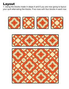 Lets Quilt Something: Squirt - Free Quilt Pattern - Charm Packs or Layer Cake Layer Cake Quilt Patterns, Charm Pack Quilt Patterns, Layer Cake Quilts, Charm Pack Quilts, Charm Quilt, Beginner Quilt Patterns, Quilt Block Patterns, Quilting Tutorials, Quilting Projects