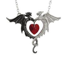 Alchemy Gothic Coeur Sauvage Dragon Pendant / Necklace Alchemy http://www.amazon.com/dp/B003JHLZKA/ref=cm_sw_r_pi_dp_Qf1Zvb1V43TZS