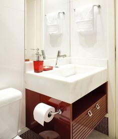 Portal Decoração - Banheiro pequeno