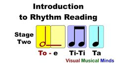 Intro to Reading Rhythms: Stage Two- Quarter, Half, and Eighth Notes Preschool Music, Music Activities, Piano Lessons, Music Lessons, Music Beats, 6 Music, School Of Rock, Reading Music, Online Lessons