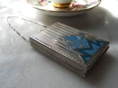 compact by TheBohemianVintage on Etsy, $150.00