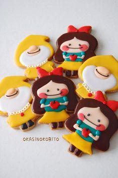 Cute Snow WhiteCookies                                                                                                                                                                                 もっと見る